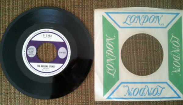 The Rolling Stones - Stoned 45 - RARE STOCK COPY MINT wOriginal Sleeve
