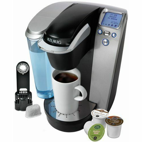 Keurig K75 Single-Cup Home-Brewing System wWater Filter  Platinum NEW IN BOX