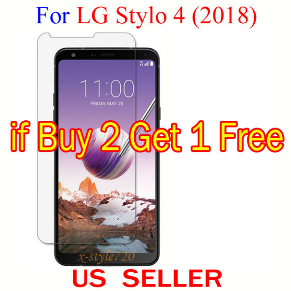 1x Clear LCD Screen Protector Guard Cover Film For LG Stylo 4 (2018)