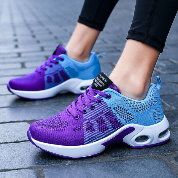 Women Sneakers Casual Shoes Running Breathable Trainers Tennis Fitness