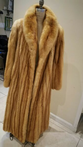 Natural Golden Russian Sable Coat - Full Length