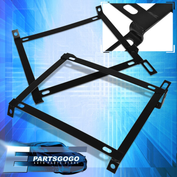 For 1992 2000 Honda Civic Hatchback Coupe Sedan Race Sport Seat Mount Bracket