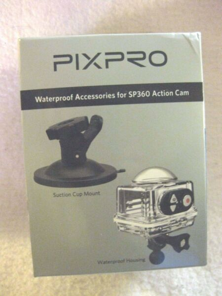 PIXPRO Waterproof Accessories for SP360 Action Cam brand NEW