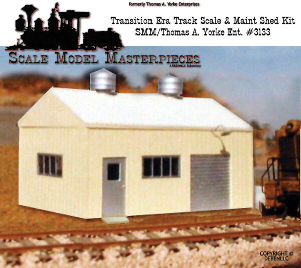 Scale Model MasterpiecesYorke 194060's Transition Pre-Fab Track-Scale Kit HO