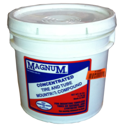 25 lb Pail Magnum Heavy Tire & Tube Mounting Grease Compound Tire Lube 3 Gallon