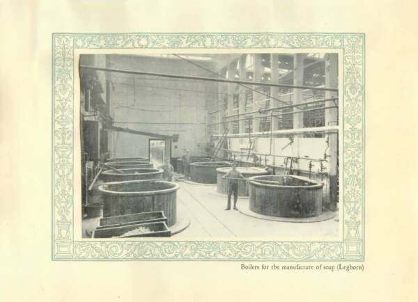 1920 Italy Leghorn Boilers For The Manufacture Of Soap GBP 5.00