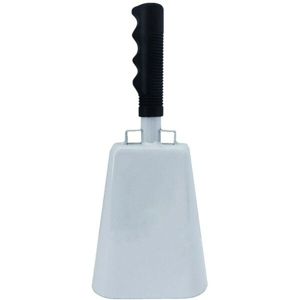 10quot; LARGE METAL COW BELL w HANDLE Dinner Cowbell Sports Cheer Events Loud Noise $10.95