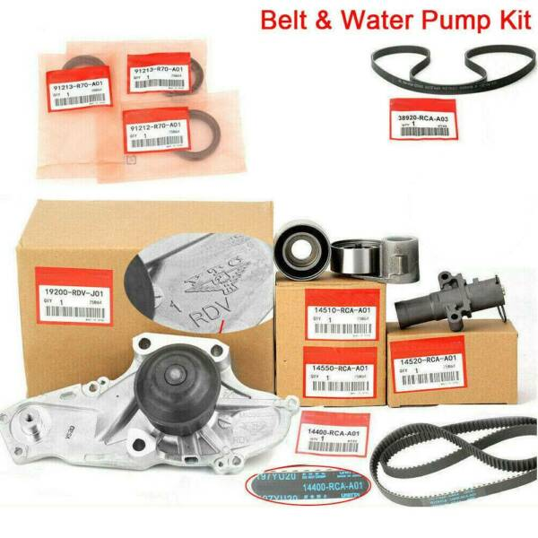 Timing Belt & Water Pump Kit Factory Parts AisinKoyo Fits for HondaAcura V6