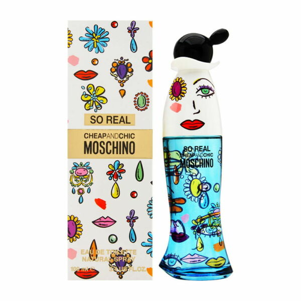 So Real Cheap Chic by Moschino for Women 3.4 oz EDT Spray Brand New $36.95