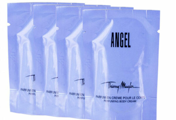 ANGEL for Women by Thierry Mugler Body Cream Packets 0.34 oz Pack of 4 $9.95