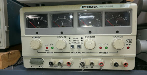 GW Instek GPC-3020 Dual Tracking Power Supply 5V Fixed - with Free Shipping - US