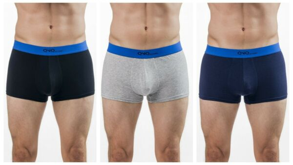 QNQ Trunk 3PCS Pack high quality cotton and spandex $11.99