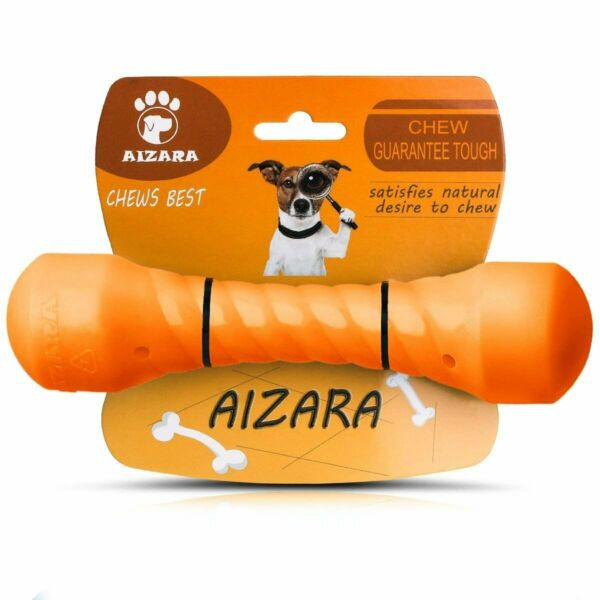 Chew Toys for Aggressive Chewers Indestructible Dog Toys Tough Rubber Bone Toys