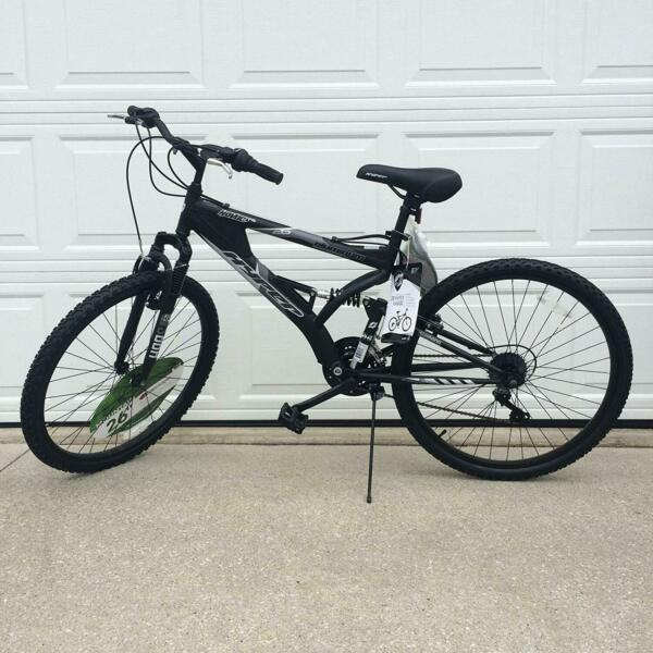 ALUMINUM MOUNTAIN BIKE 21 Speeds Full Suspension 26quot; Men Bicycle Shimano Black $179.95