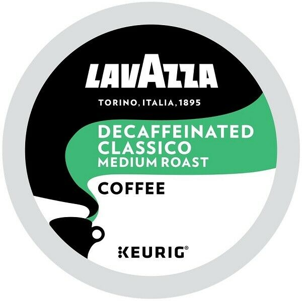 Lavazza DECAF Classico Coffee 22 to 132 Keurig Kcups Pick Any Size FREE SHIPPING