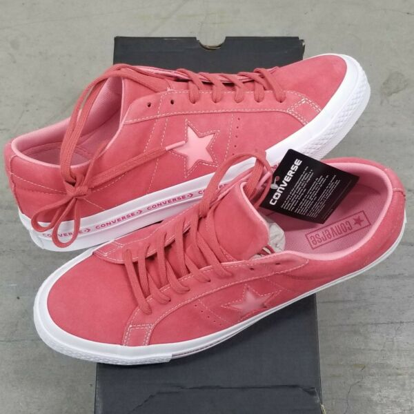 Converse One Star Ox PinStripe Pink Low Top Sneaker