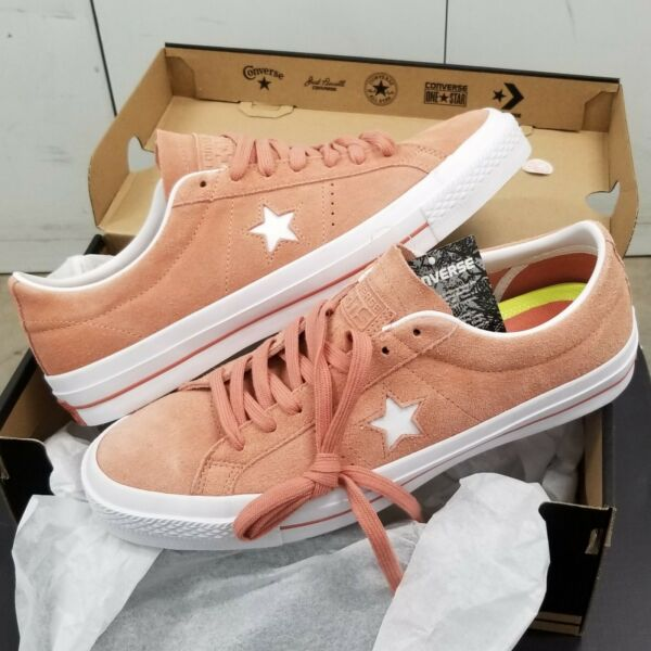Converse One Star Ox Suede Pink Blush White