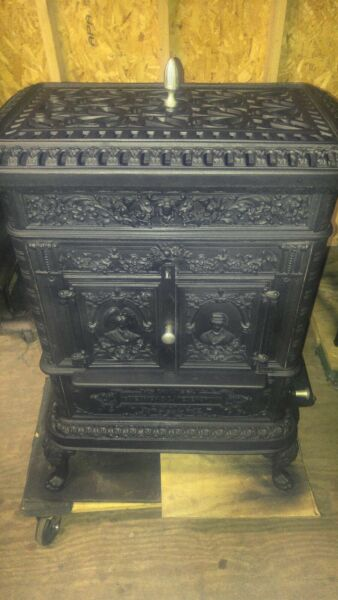 Cast Iron French Wood Cook Stove
