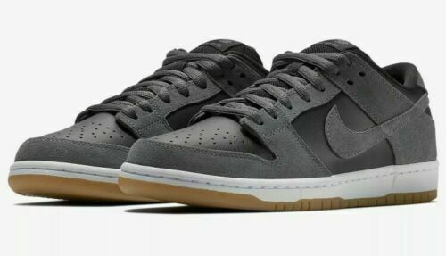 Nike SB Dunk Low TRD Size 7.5-9.5 Dark Grey Black Gum Skateboarding AR0778 001