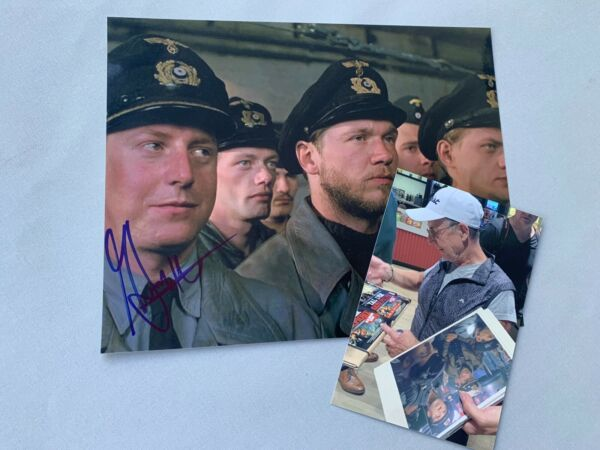 MARTIN SEMMELROGGE 'The Boat' German actor in-person signed  photo 8x10 + proof