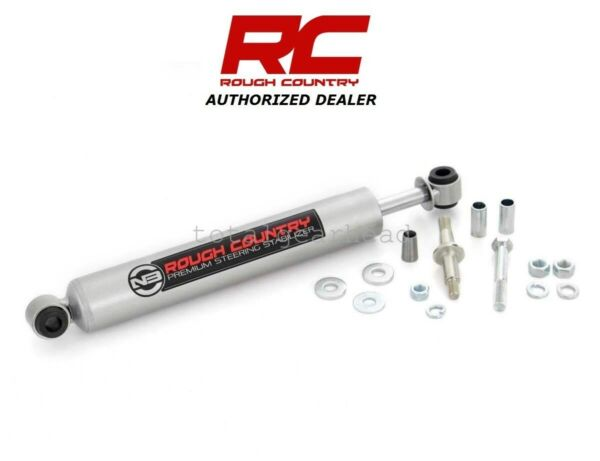 94-12 Dodge Ram 1500 2500 3500 4WD Rough Country Steering Stabilizer [8732330]