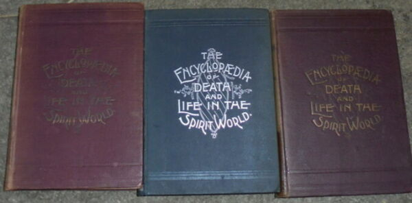 Encyclopedia Death Life Spirit Soul World Necromancy Occult Angels Ghost Myth AO