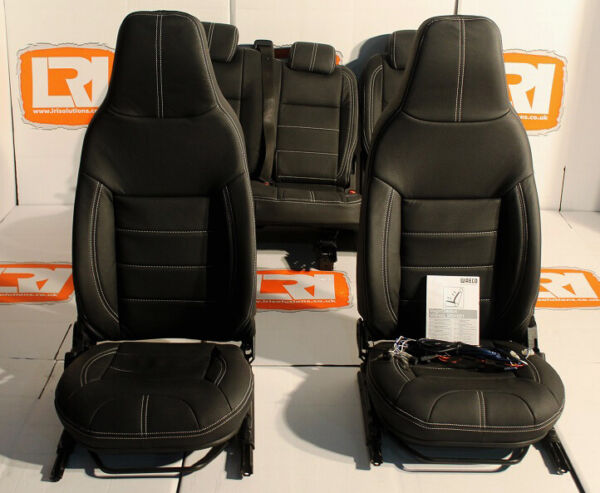 Full leather heated premium front middle seats Fits Land Rover Defender TDCI 110