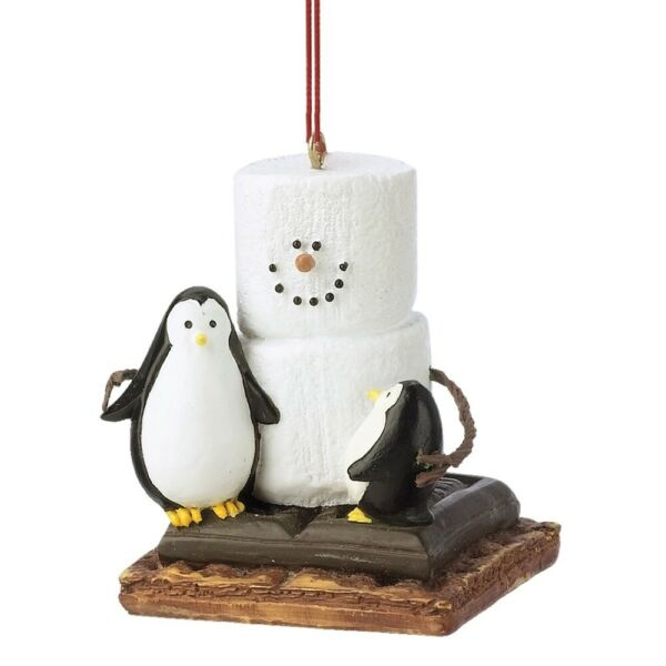 S'more with Penguins Ornament Free Ship USA