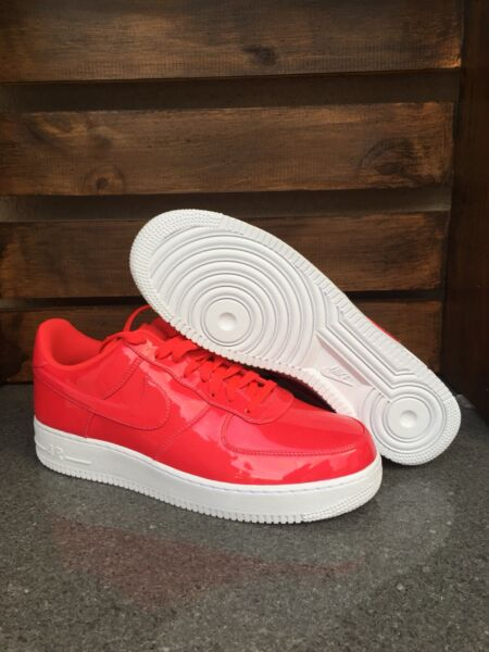 Size 11.5 - Nike Air Force 1 One Low LV8 UV Patent Leather Siren Red AJ9505-600