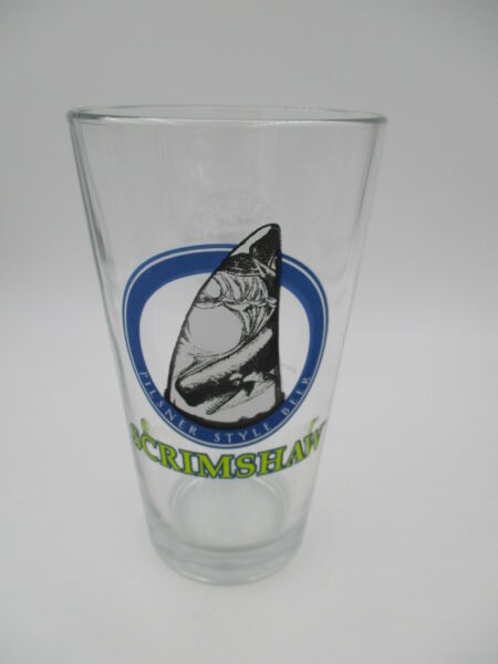 North Coast Brewing Company SCRIMSHAW Pint Beer Glass Fort Bragg CA Craft