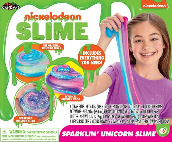 Nickelodeon Ultimate DIY Unicorn Arts and Crafts Slime Kit by Cra-Z-Art