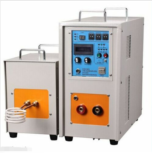 15KW 30-80KHz Dual Station High Frequency Induction Heater Furnace LH-15AB na