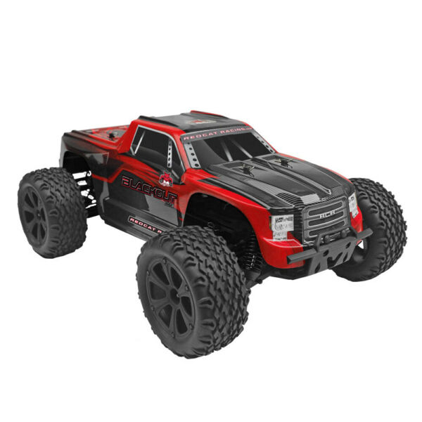 Redcat Racing Blackout XTE 1/10 Scale Brushed Electric RC Monster Truck Vehicle