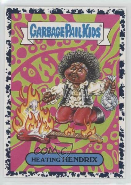 2017 Topps Garbage Pail Kids Battle of the Bands Bruised #9b Heating Hendrix 0c4