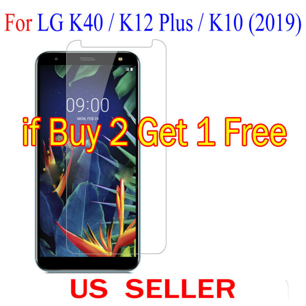 1x Clear LCD Screen Protector Guard Cover Film For LG K40  K12 Plus  K10(2019)