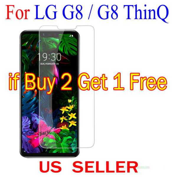 1x Clear LCD Screen Protector Guard Cover Film shield for LG G8  G8 ThinQ