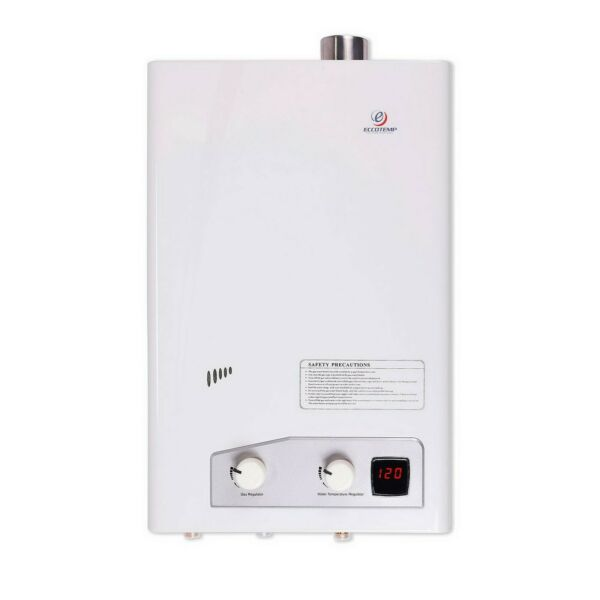 Eccotemp Natural Gas Tankless Water Heater Digital Display for 2 3 bedroom home $288.59