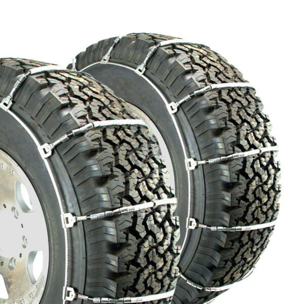 Titan TruckBus Cable Tire Chains Snow or Ice Covered Roads 10.5mm 35x12.50-20