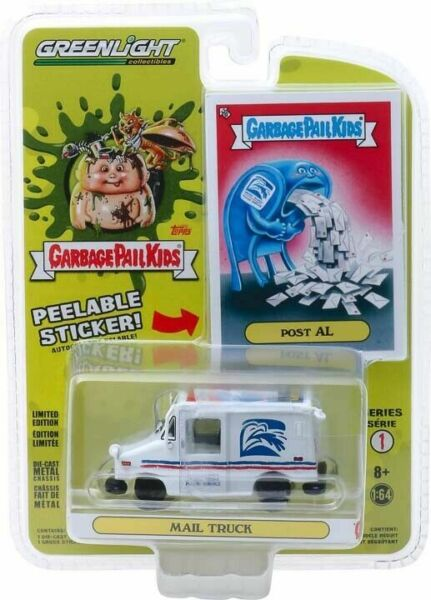 Greenlight 164 Garbage Pail Kids S 1 POST AL LLV Mail Delivery Truck 54010E