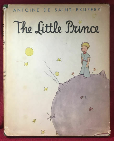 THE LITTLE PRINCE by Antoine de-Saint Euxpery 1st state jacket - Nice copy