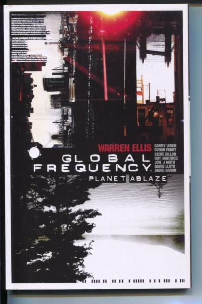 Global Frequency: Planet Ablaze-Warren Ellis-TPB-trade