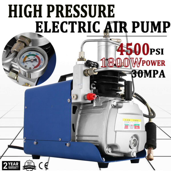 Yong Heng High Pressure Air Compressor Pump 30Mpa 110V Electric Air Pump PCP