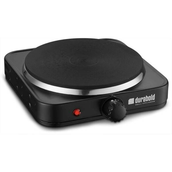 Single Electric Burner Sealed 1000W 7 Inch Portable Hot Plate Cook Stove Black