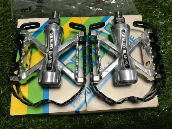 NOS BMX Old school SR MTP 100 Pedals 12 SEALED BEARING MP crank sugino 1 piece