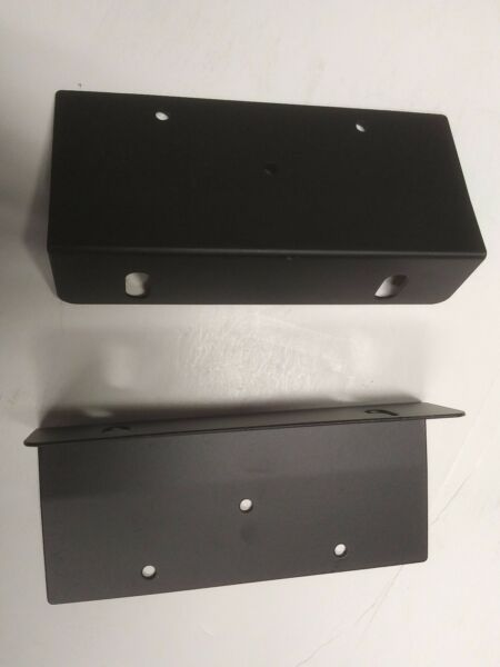Universal Rack Mount Ears Brackets for 4 3 4 inch high 17 inch components $7.99