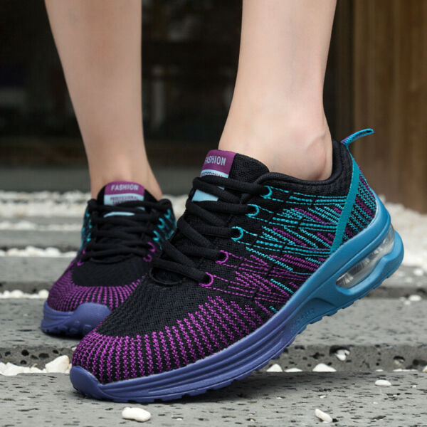 Women's  Running Shoes Tennis Lightweight Breathable Gym Athletic Casual Walking