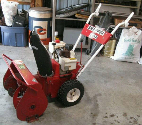 Snapper I 522 snow blower Tecumseh engine (5 hp 22 in.)