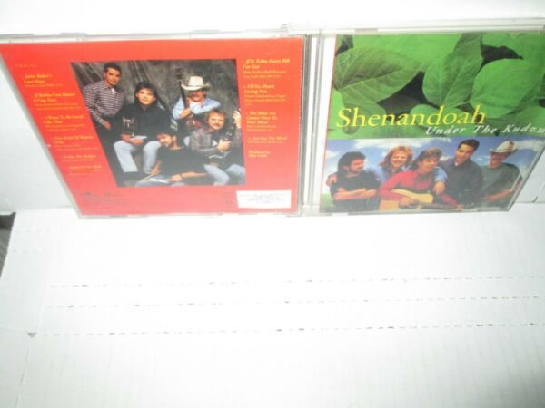 SHENANDOAH - UNDER THE KUDZU rare Country cd Janie Baker's IF BUBBA 10 song 1993