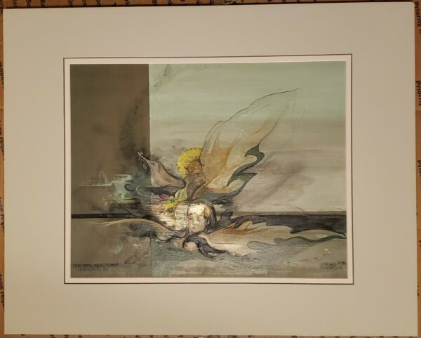 MIRIAM SOWERS (1922-2008) Original Oil Painting SIGNED Listed New Mexico Artist