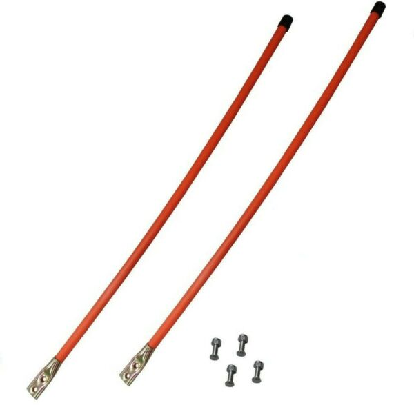 (2) Universal Snow Plow Blade Marker Guides Power Plow